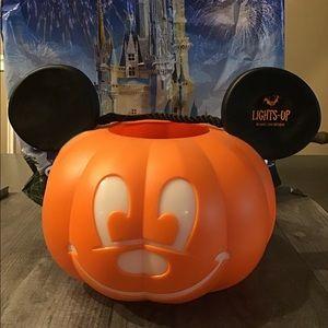 Disney Mickey Mouse halloween light up bucket